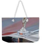 1984 Rolls-royce Silver Spur Hood Ornament Weekender Tote Bag
