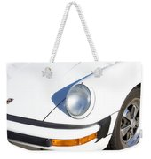 1987 White Porsche 911 Carrera Front Weekender Tote Bag by James BO  Insogna