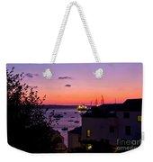 Sunrise Falmouth Docks Weekender Tote Bag