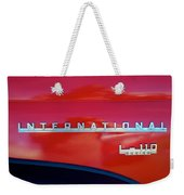 1950 International L-100 Weekender Tote Bag