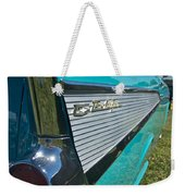 1957 Chevy Convertable Weekender Tote Bag