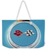 1967 Chevrolet Corvette Emblem Weekender Tote Bag