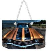 1972 Chevelle Weekender Tote Bag