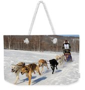 2010 Limited North American Sled Dog Race Weekender Tote Bag