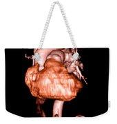 3d Cta Of Heart Weekender Tote Bag