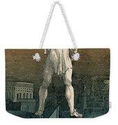 7 Wonders Of The World, Colossus Weekender Tote Bag