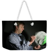 A Balloon Is Popped Weekender Tote Bag