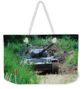A Leopard 1a5 Mbt Of The Belgian Army Weekender Tote Bag