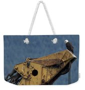 A Northern American Bald Eagle Weekender Tote Bag