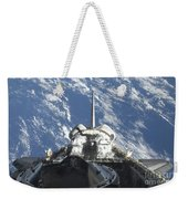 A Partial View Of Space Shuttle Weekender Tote Bag
