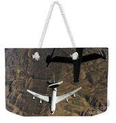 A U.s. Air Force E-3 Sentry Aircraft Weekender Tote Bag