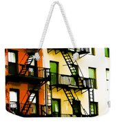 Above The Market Weekender Tote Bag