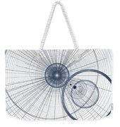 Abstract Circle Art Weekender Tote Bag
