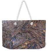 Abstract Flood Weekender Tote Bag