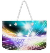 Abstract Of Stage Concert Lighting Weekender Tote Bag by Setsiri Silapasuwanchai