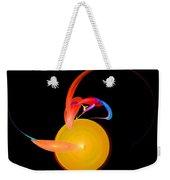 Abstract Twenty-one Weekender Tote Bag