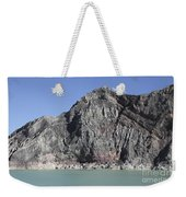 Acidic Crater Lake, Kawah Ijen Volcano Weekender Tote Bag