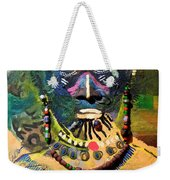 African Bead Painting  Weekender Tote Bag