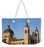 Almudena Cathedral In Madrid Weekender Tote Bag