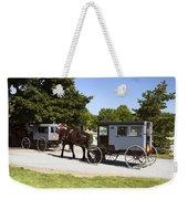 Amish Buggies Weekender Tote Bag