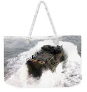 An Amphibious Assault Vehicle Weekender Tote Bag