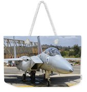 An F-15c Eagle Baz Aircraft Weekender Tote Bag