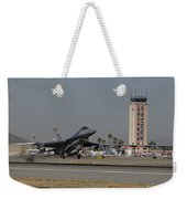 An F-16 Fighting Falcon Takes Weekender Tote Bag