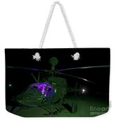 An Oh-58d Kiowa Helicopter At Cob Weekender Tote Bag