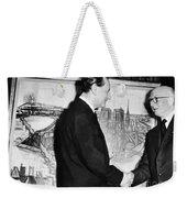 Andre Malraux (1901-1976) Weekender Tote Bag