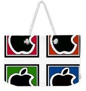 Apple Colors Weekender Tote Bag