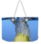 Apple Dropped In Water Weekender Tote Bag