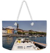Ascona - Ticino Weekender Tote Bag by Joana Kruse