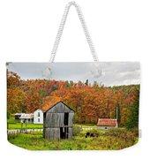 Autumn Farm Weekender Tote Bag
