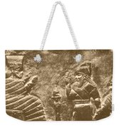 Babylonian Boundary Stone Weekender Tote Bag by Science Source