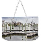 Bald Head Island Marina  Weekender Tote Bag