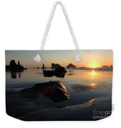 Bandon Beach Sunset Weekender Tote Bag