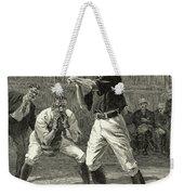 Baseball, 1888 Weekender Tote Bag