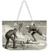 Baseball Game, 1885 Weekender Tote Bag