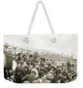 Baseball: Playoff, 1908 Weekender Tote Bag
