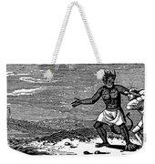 Bewick: Devil Weekender Tote Bag