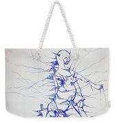 Birth Weekender Tote Bag by Gloria Ssali