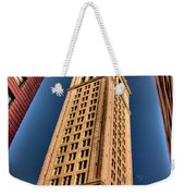 Boston Custom House Weekender Tote Bag