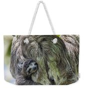 Brown-throated Three-toed Sloth Weekender Tote Bag by Suzi Eszterhas