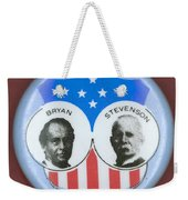 Bryan Campaign Button Weekender Tote Bag