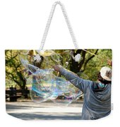 Bubble Boy Of Central Park Weekender Tote Bag