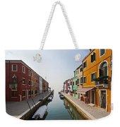 Burano - Venice - Italy Weekender Tote Bag by Joana Kruse