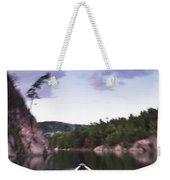 Canoeing In Ontario Provincial Park Weekender Tote Bag