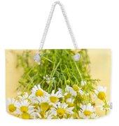 Chamomile Flowers Weekender Tote Bag