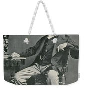 Charles Dickens, English Author Weekender Tote Bag by Photo Researchers