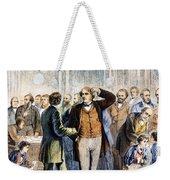 Charles Sumner (1811-1874) Weekender Tote Bag